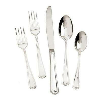 Walco - 44B05 - Silverplate Classic Silver 5 Piece Place Setting