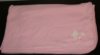 """Children's Place/baby's Place Tiny Paws Reversible Baby  Blanket @ 30"""" X 30"""" -Dt"""