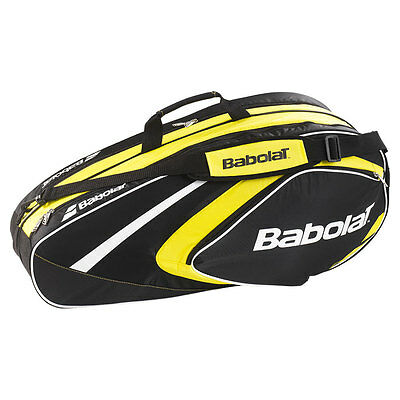 Club Line 6 Pack Tennis Bag Yellow