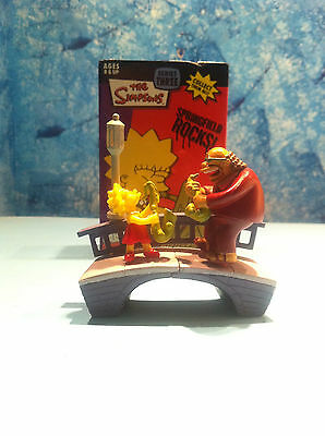 The Simpsons Bust Ups Figures Lisa & Marphy Simpsons Nuovo