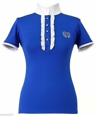 Tournament blouse/Competition shirt Fairplay Charlotte with Rhinestone