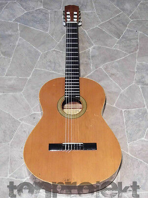 fine vintage Alhambra solid top spanish Classical GUITAR Guitarra SPAIN 1979