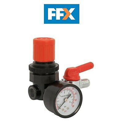 Sealey SA5/RG/14 Air Regulator 1/4inBSP Female - 1/4inBSP Male