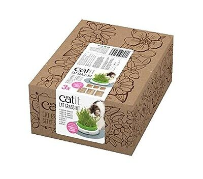Catit CAT GRASS KIT Set of 3 for Catit Senses 2.0 Grass Planter