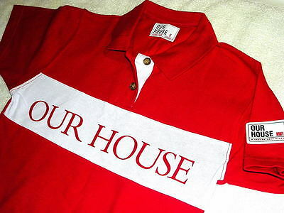 Our House Madness Musical - Ladies/youth Medium Size - Official Red Polo Shirt
