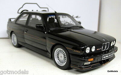 Otto 1/18 Scale OT632 BMW M3 Alpina B6 3.5S 1988 Anthracite Resin cast Model Car