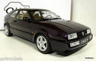 Otto 1/18 Scale OT611 Volkswagen Corrado V6 Purple Resin cast Model Car