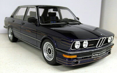 Otto 1/18 Scale OT640 BMW E12 Alpina B7 S Turbo met blue Resin sealed Model Car