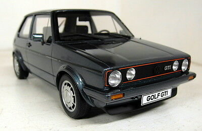 Otto 1/18 Scale OT565 Volkswagen Golf MK1 GTi Pirelli Grn Resin sealed Model Car