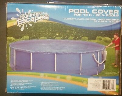 Summer Escapes Pool Cover 16ft -20 Ft Pools BRAND NEW