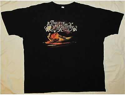 BULLET FOR MY VALENTINE Adult Size XXL Black T-Shirt