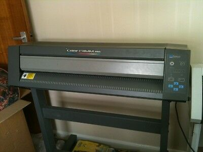 roland pc60 color CAMM Pro printer/cutter comes with heaps of cassetes/tapes