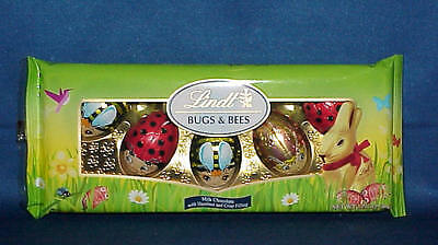 Lindt Easter Bugs & Bees Chocolate With Hazelnut And Crisp Filling 1.76 Oz 11/