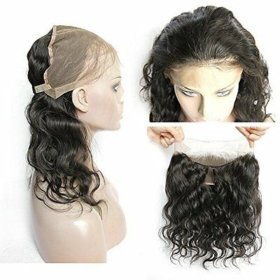 """360-Degree Lace Band Frontals, Back w/ Elastic, 13""""x4"""" by CiCi Collection"""
