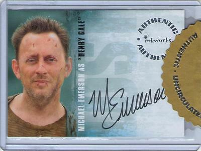 2006 Inkworks LOST Uncirculated Autograph Auto - Michael Emerson as Henry Gale