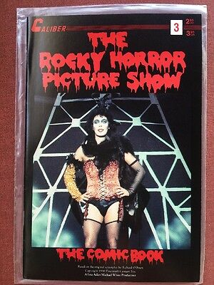 The Rocky Horror Picture Show The Comic Book Vol 1 #3 Jan 1992 Caliber