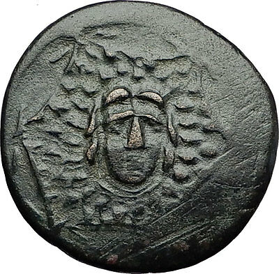 AMASTRIS in PAPHLAGONIA Mithradates VI the GREAT Athena Medusa Greek Coin i58324