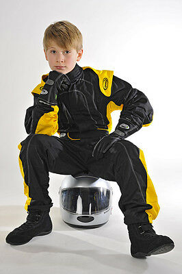 Speed Overall Kinderoverall Rennoverall Kartanzug Gr. 98 104 110/116 122/128 .,