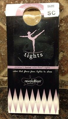Revolution Dancewear Children's Footed Tights Size SC (Small child) Color-Flow