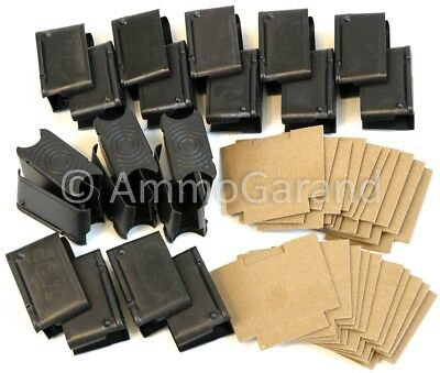 20x M1 Garand 8rd ENBLOC Clips & Cardboard Set NEW US Made 30-06 use
