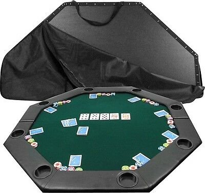 52 X 52 Octagon Padded Poker Tabletop Green Poker Layout Green 10-11652