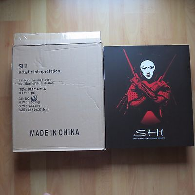 Shi Action Figure 1/6 Phicen Limited PL2014-71-A Tucci Crusade Comics