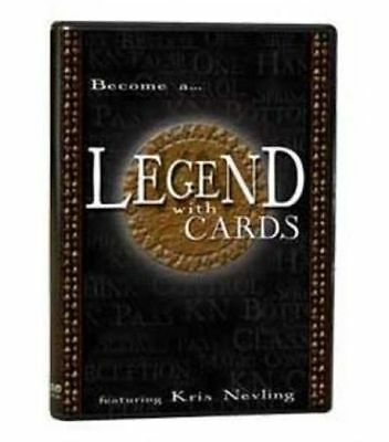 Become a ...LEGEND WITH CARDS by Kris Nevling - DVD