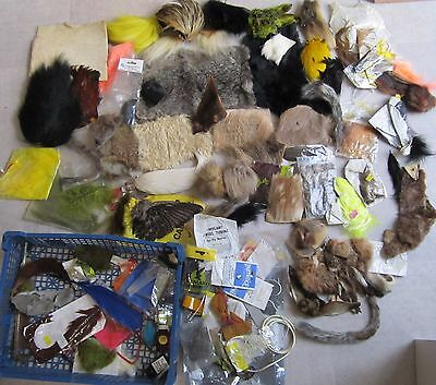 Massive Job Lot Of Fly Fishing Materials for the serious maker