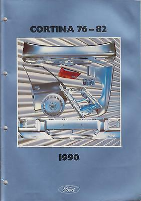 FORD FIESTA MK3 ( INCL XR2i ) 1989-1990 FACTORY BODY PANELS PICTORIAL PARTS LIST