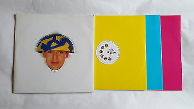 "PET SHOP BOYS Relentless UK 3 x 12"" promo only set yellow, pink & blue vinyl"