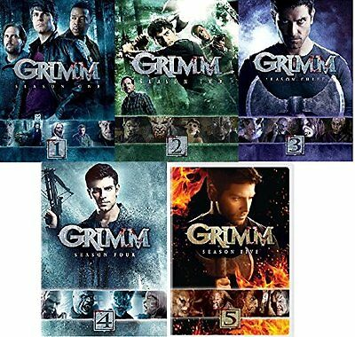 NEW Grimm Complete Seasons 1-5 Collection (DVD)