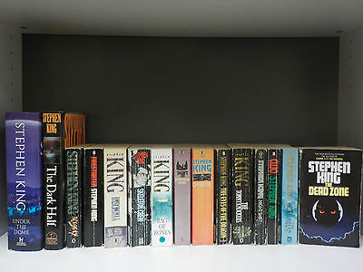 Stephen King - 15 Books Collection! (ID:42611)