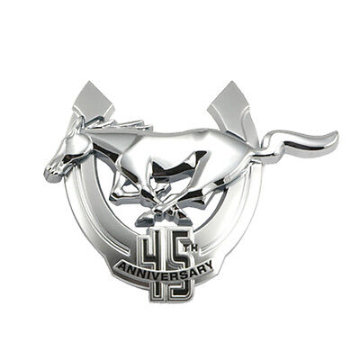 2009 Mustang Genuine Ford Driver's Side 45th Anniversary Chrome Emblem - LH