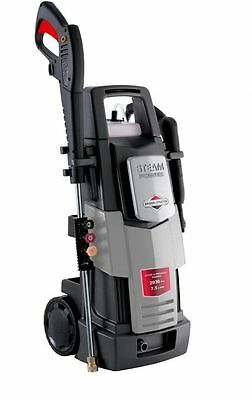 NEW Briggs & Stratton electric pressure washer steam cleaner 140bar sprint 2000E