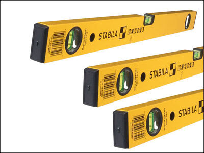Stabila STB702SET 70-2 Series Double Plumb Level Pack 60 / 120 / 180cm
