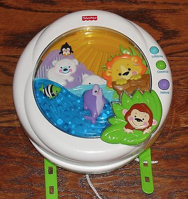 Fisher Price Precious Planet Melodies and Motion Crib Soother Lights Muisic