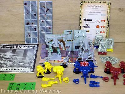Mission Dreadnought - Space Crusade Expansion Set - Mb/games Workshop #822