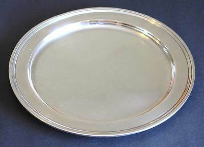Superb Tiffany Co Sterling Silver 11 Inch Charger Dinner Plate John C Moore