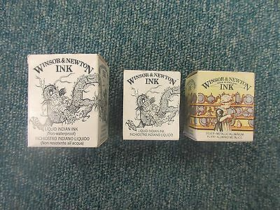 Winsor & Newton Artists' Quality Drawing & Sketching Art Graphic Ink 14ml & 30ml