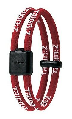 Trion Z Dual Magnetic Ionic Bracelet Red Size Medium  NEW!!