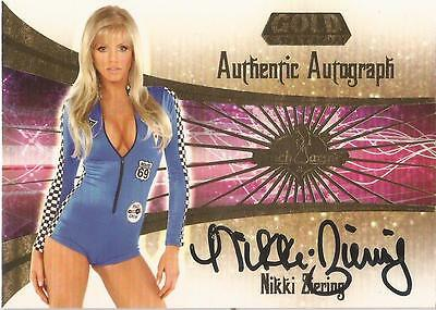 "Benchwarmer 2007 Gold Edition -  #5 of 30 ""Nikki Ziering"" Auto / Autograph Card"