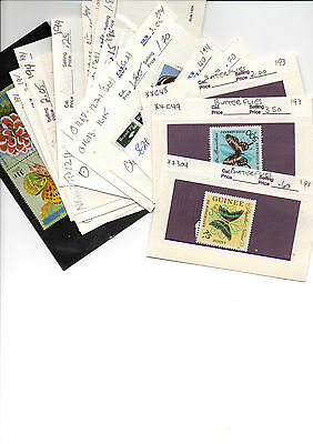 Butterflies On Stamps