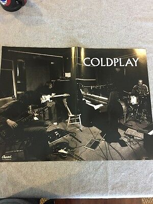 Coldplay Poster: A Rush Of Blood To The Head, 2 Sided, 24 X 18, Rare!