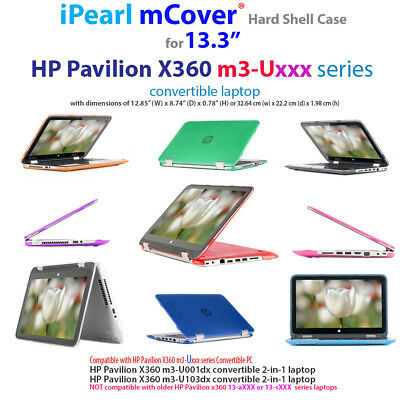 New Mcover Hard Shell Case For 13 3 Hp Pavilion X360 M3 Uxxx 2 In 1 Laptop