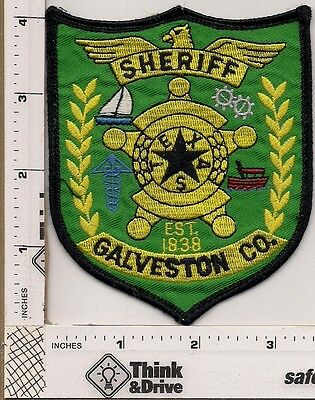 Galveston County Sheriff.Texas.