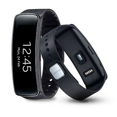 Samsung Gear Fit SM-R350 Orologio Smartwatch Android - Bluetooth Cardio - Nero