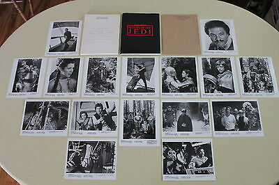 RETURN OF THE JEDI press kit 16 photos Star Wars Carrie Fisher Harrison Ford