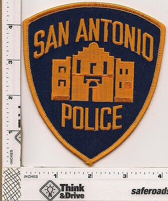 San Antonio Police.Texas. Orange Thread.