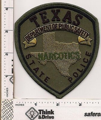 Texas State Police.Narcotics.Subdued green  Background.Texas.