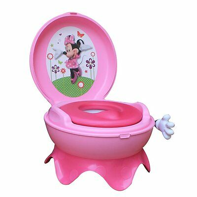 Disney Baby Minnie Mouse 3-in-1 Potty System - Pink  885173655963